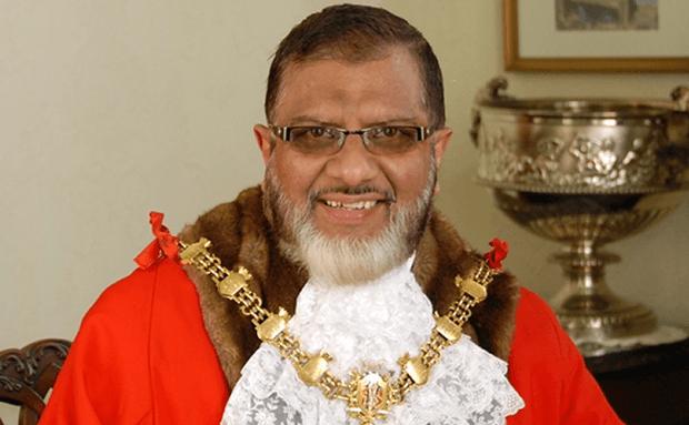Councillor Salim Mulla, Blackburn with Darwen Mayor