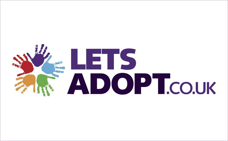 Let's adopt logo