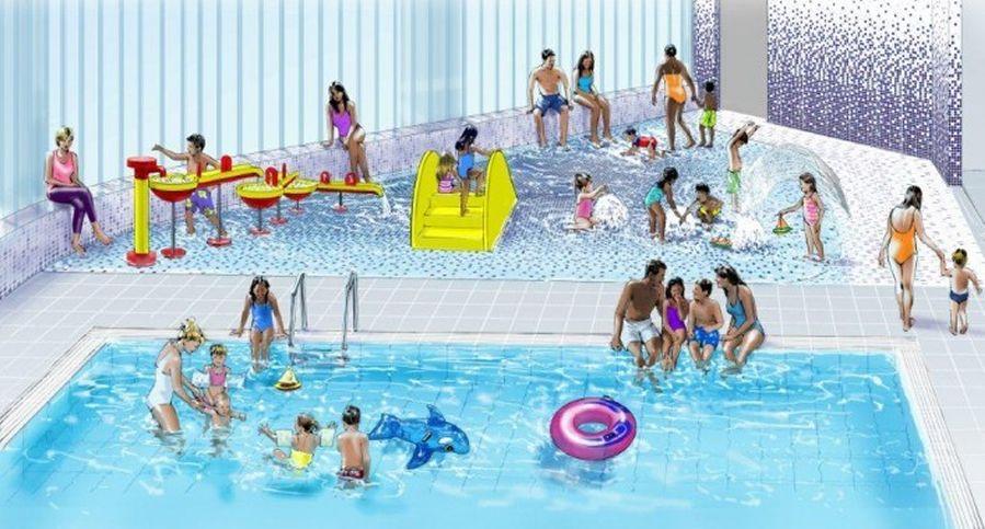 Blackburn Leisure Centre pools artist's impression