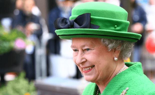 HRH the Queen on Church Street, Blackburn